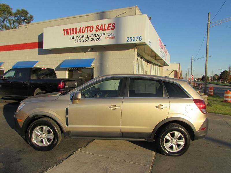 2008 SATURN VUE XE 4DR SUV tan 2008 saturn vue xesuper cleanmust seewe finance auto fwd