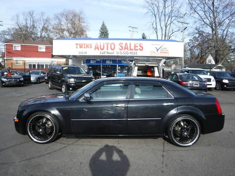 2007 CHRYSLER 300 C 4DR SEDAN black 2007 chrysler 300 cextra cleanmust seewe finance  leat