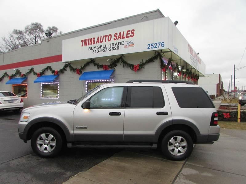 2006 FORD EXPLORER XLT 4DR SUV 4WD WV6 silver 2006 ford explorer xlt super cleanmust seewe