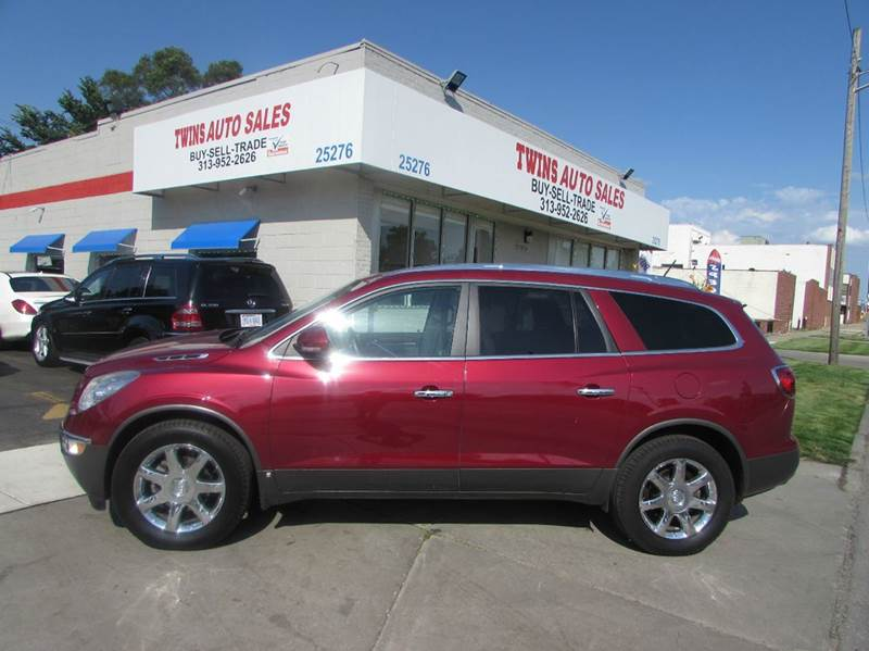 2009 BUICK ENCLAVE CXL 4DR SUV maroon 2009 buick enclave cxl super cleanmust seewe finance