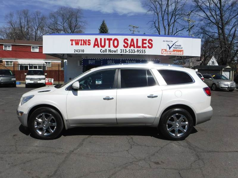 2010 BUICK ENCLAVE CXL AWD 4DR SUV W1XL white 2010 buick enclave cxlsuper cleanmust seewe f