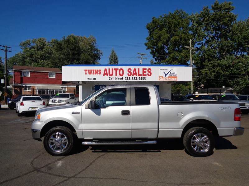 2007 FORD F-150 XLT 4DR SUPERCAB 4WD STYLESIDE 5 silver 2007 ford f150 xlt super cleanmust se