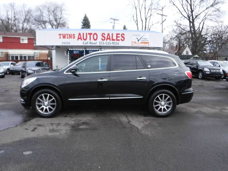 2013 BUICK ENCLAVE LEATHER AWD 4DR SUV black 2013 buick enclave super cleanmust seewe financ