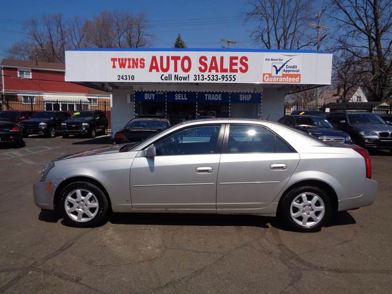 2007 Cadillac Cts 4dr Sedan 2 8l V6 In Detroit Mi Twins Auto Sales Inc