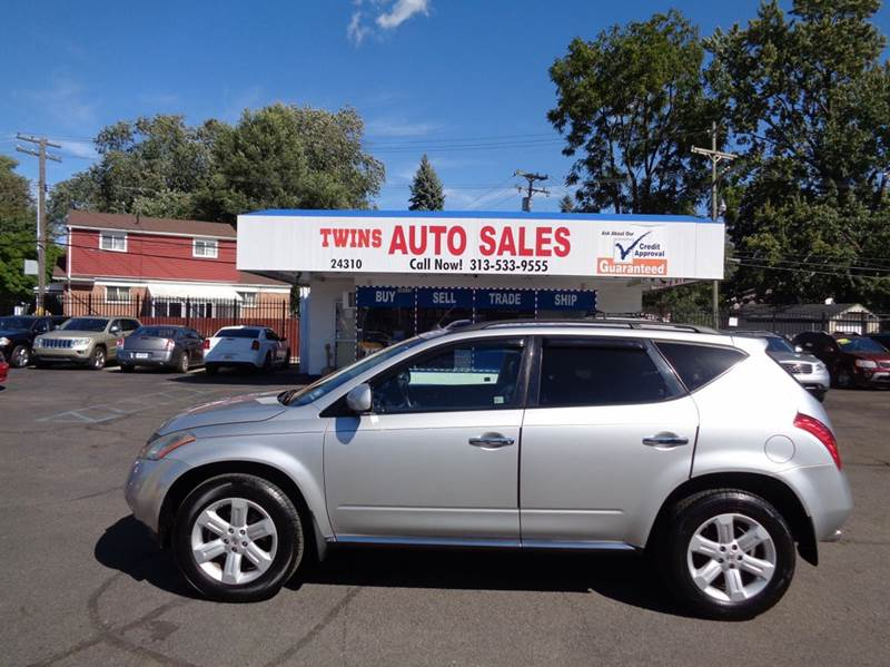 2007 NISSAN MURANO S AWD 4DR SUV silver 2007 nissan murano s super cleanmust seewe finance
