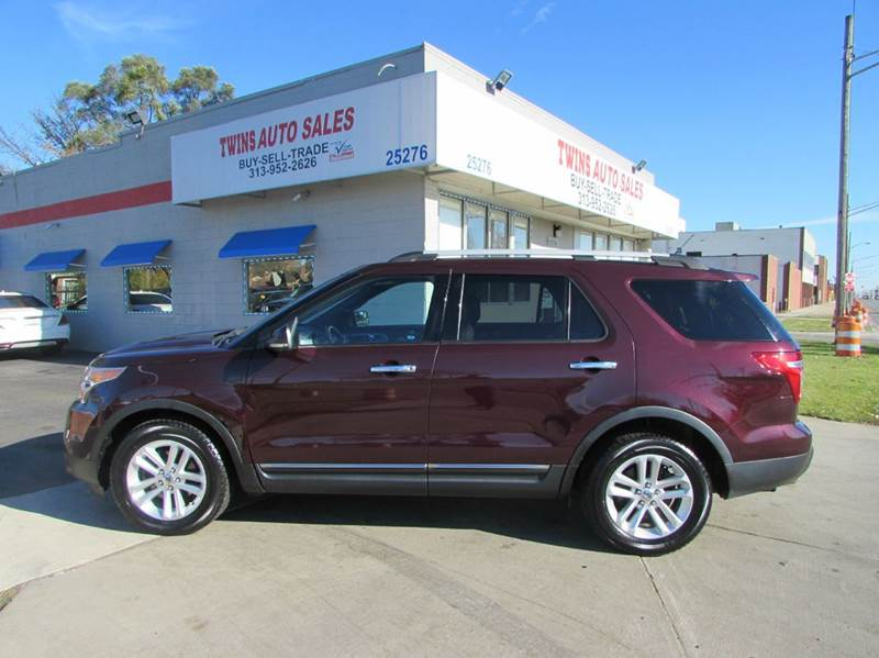 2011 FORD EXPLORER XLT 4DR SUV maroon 2011 ford explorer xlt super cleanmust seewe finance