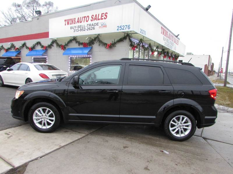 2013 DODGE JOURNEY SXT 4DR SUV black 2013 dodge journey sxtsuper cleanmust seewe finance a