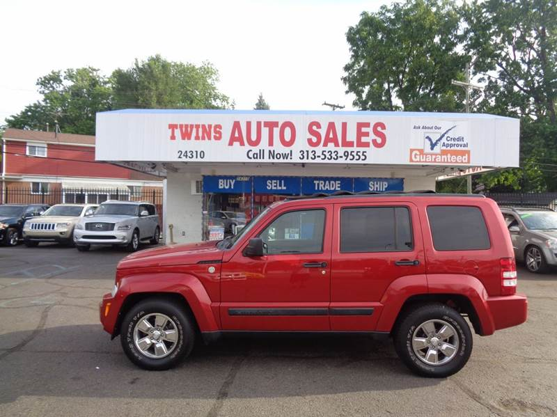 2010 JEEP LIBERTY SPORT 4X4 4DR SUV red 2010 jeep liberty sport super cleanmust seewe finan