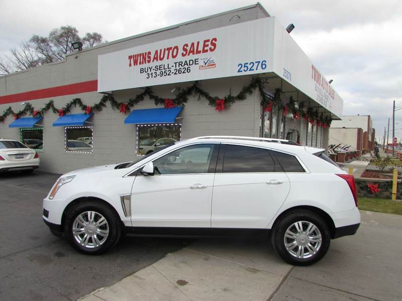 2014 CADILLAC SRX LUXURY COLLECTION 4DR SUV white 2014 cadillac srx luxury super cleanmust see