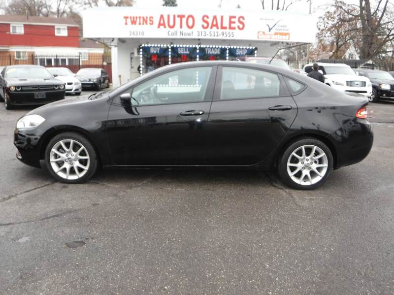 2013 DODGE DART RALLYE 4DR SEDAN black 2013 dodge dart rallyemust see4cyl   like newfina