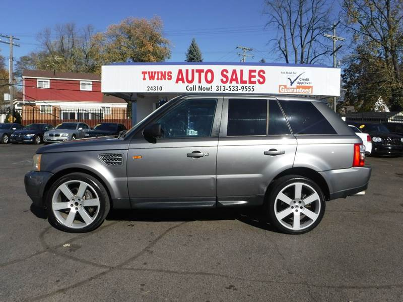 2007 LAND ROVER RANGE ROVER SPORT SUPERCHARGED 4DR SUV 4WD gray 2007 land rover range rover superc