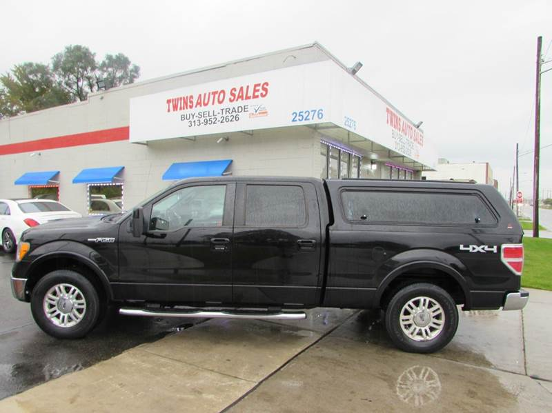 2009 FORD F-150 LARIAT 4X4 4DR SUPERCREW STYLESI black 2009 ford f150 lariat super cleanmust