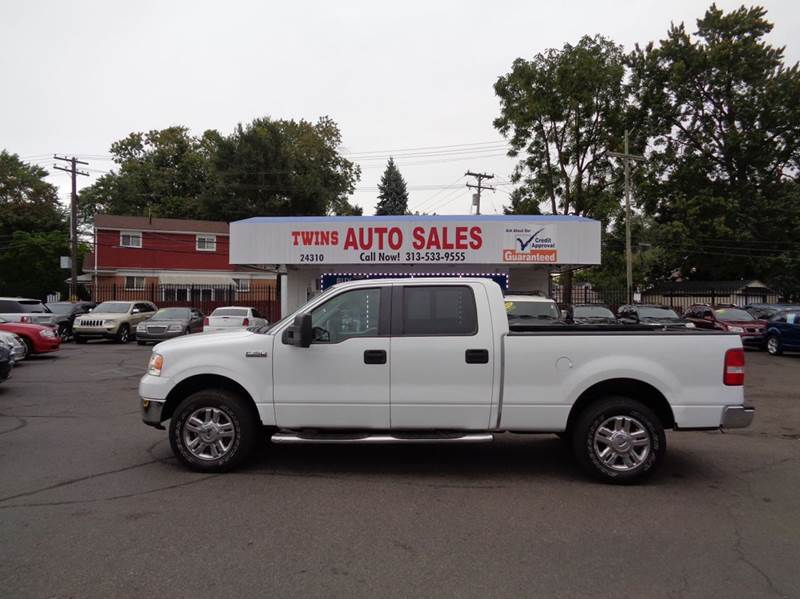 2007 FORD F-150 XLT 4DR SUPERCREW 4WD STYLESIDE white 2007 ford f150 xlt super cleanmust see