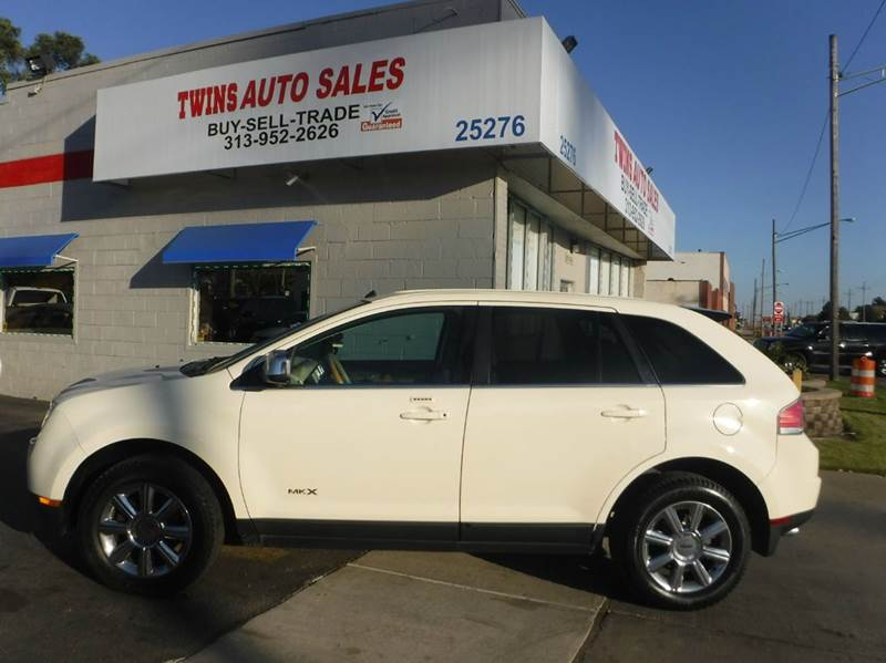 2007 LINCOLN MKX BASE AWD 4DR SUV white 2007 lincoln mkx super cleanmust seewe finance v6
