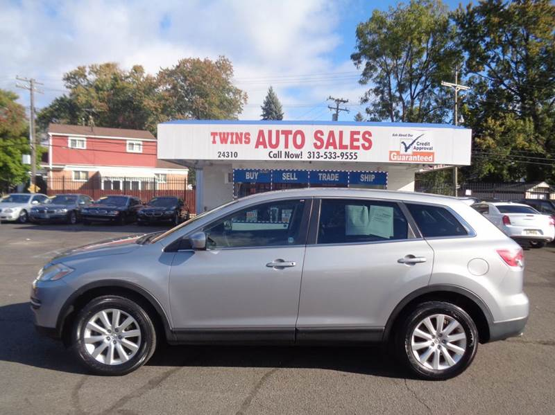 2008 MAZDA CX-9 SPORT AWD 4DR SUV silver 2008 mazda cx 9 super cleanmust seewe finance v6