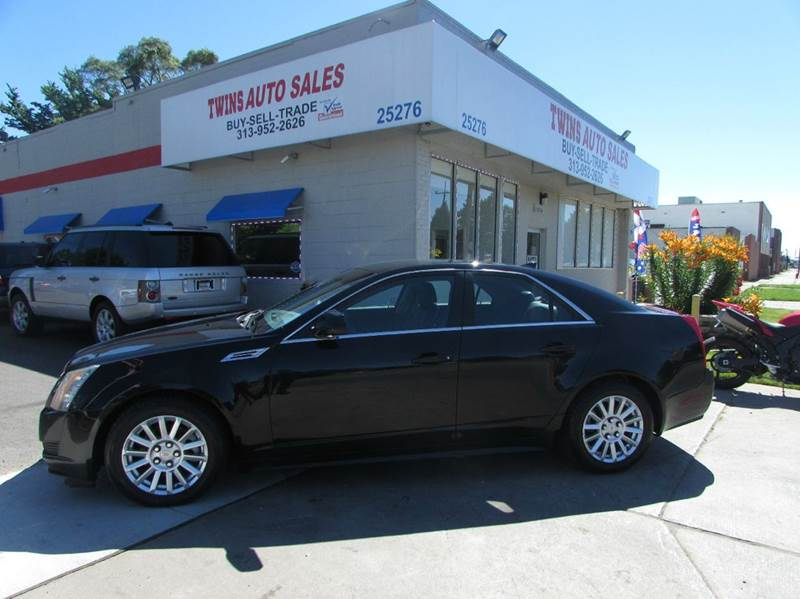 2010 CADILLAC CTS 30L V6 4DR SEDAN black 2010 cadillac cts super cleanmust seewe finance