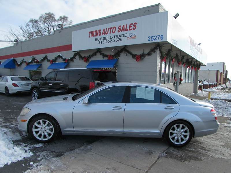 2007 MERCEDES-BENZ S-CLASS S550 4DR SEDAN silver 2007 mercedes benz s550 super cleanmust see