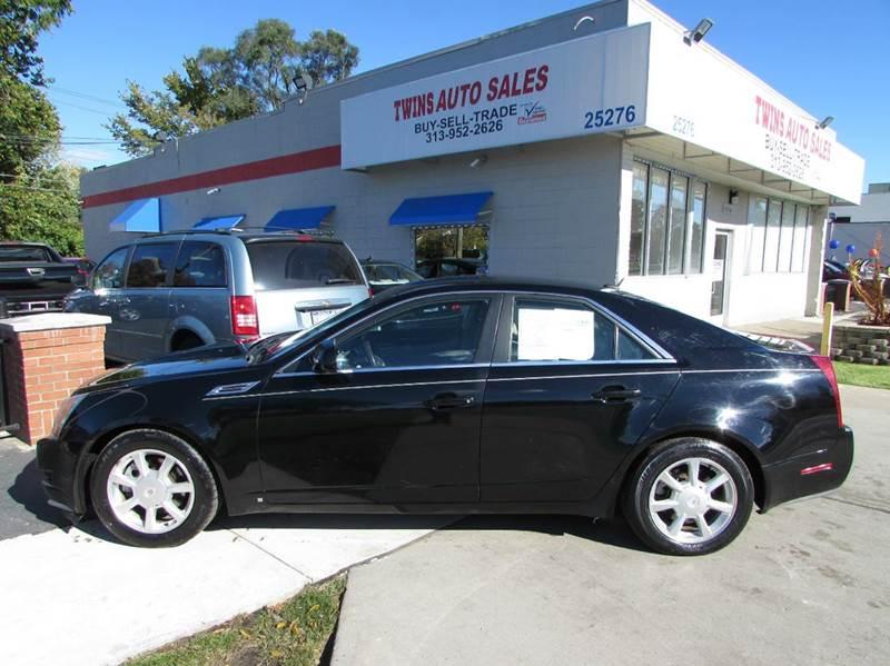 2008 CADILLAC CTS 36L V6 AWD 4DR SEDAN black 2008 cadillac cts super cleanmust seewe financ