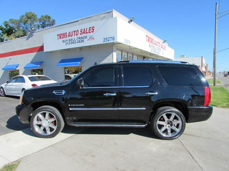 2007 CADILLAC ESCALADE BASE AWD 4DR SUV black 2007 cadillac escalade super cleanmust seewe