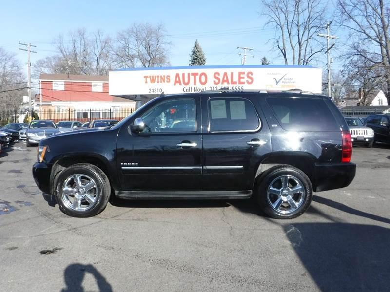 2012 CHEVROLET TAHOE LTZ 4X4 4DR SUV black 2012 chevrolet tahoe ltzsuper cleanmust seewe fi