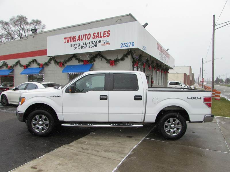 2009 FORD F-150 XLT 4X4 4DR SUPERCREW STYLESIDE white 2009 ford f150 xlt super cleanlow miles