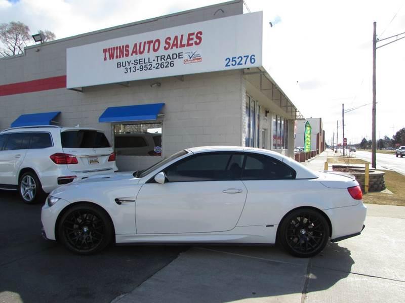 2012 BMW M3 BASE 2DR CONVERTIBLE white 2012 bmw m3 convertiblelike newlow milesfinancing av