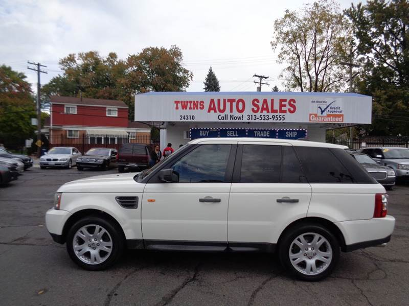 2006 LAND ROVER RANGE ROVER SPORT HSE 4DR SUV 4WD white 2006 land rover range rover hsesuper cle
