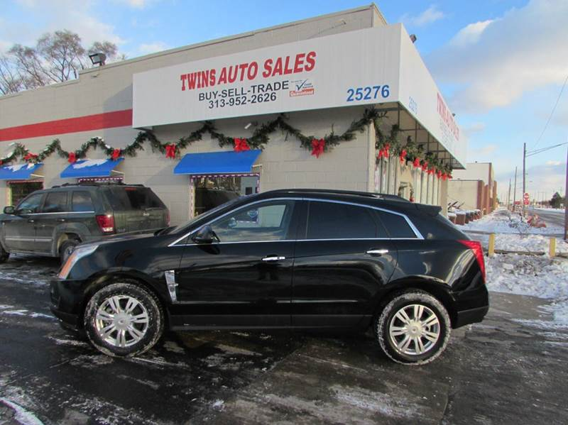 2011 CADILLAC SRX BASE 4DR SUV black 2011 cadillac srx super cleanmust seewe finance v6