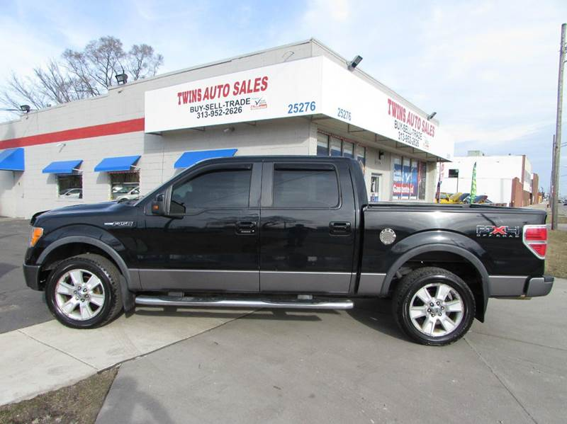 2009 FORD F-150 FX4 4X4 4DR SUPERCREW STYLESIDE black 2009 ford f150 fx4 super cleanlow miles
