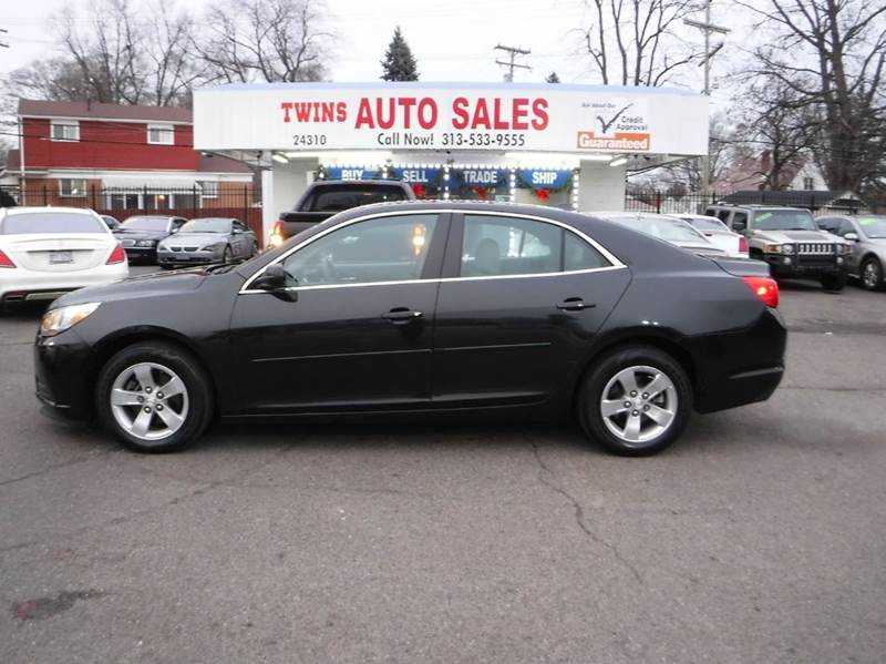2013 CHEVROLET MALIBU LS 4DR SEDAN black 2013 chevrolet malibu ls like newlow milesfinancing