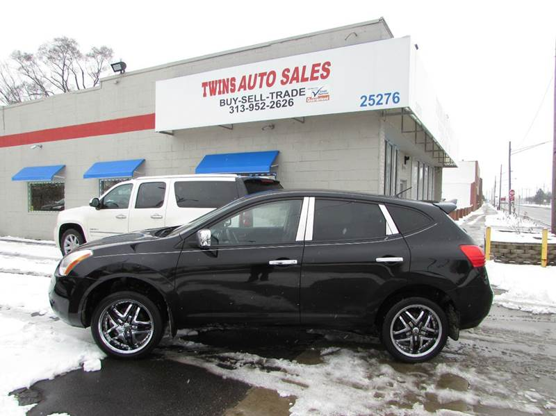2010 NISSAN ROGUE S AWD 4DR CROSSOVER black 2010 nissan rouge s super cleanmust seewe financ