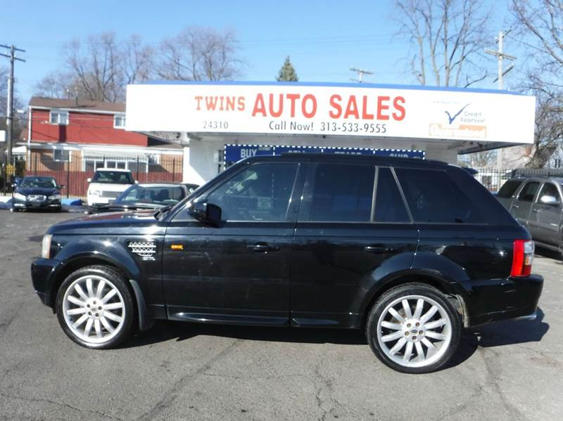 2006 LAND ROVER RANGE ROVER SPORT HSE 4DR SUV 4WD black 2006 land rover range rover hse sportsup