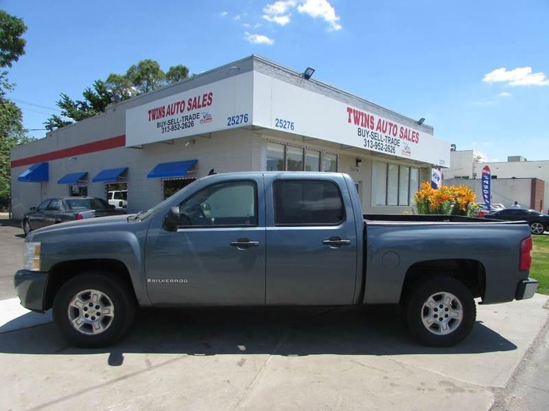 2007 CHEVROLET SILVERADO 1500 LS 4DR CREW CAB 4WD 58 FT SB blue 2007 chevrolet silverado 1500 l