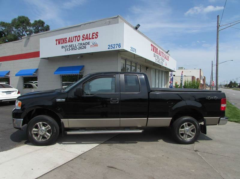 2006 FORD F-150 XLT 4DR SUPERCAB 4WD STYLESIDE 5 black 2006 ford f150 xlt super cleanmust see