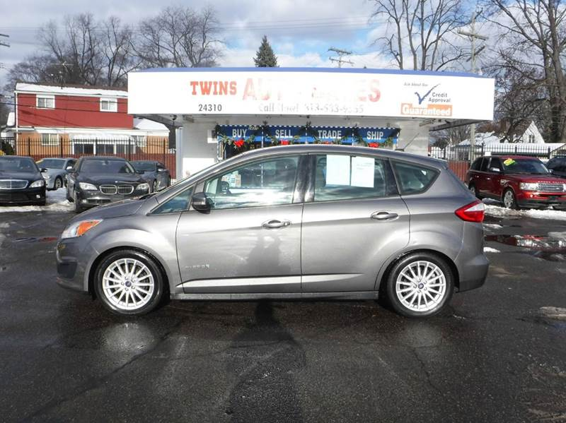 2013 FORD C-MAX HYBRID SE 4DR WAGON gray 2013 ford cmax hybrid super cleangreat on gasfinanc