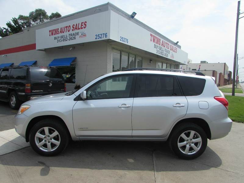 2006 TOYOTA RAV4 LIMITED 4DR SUV WV6 silver 2006 toyota rav 4 limited super cleanmust seew