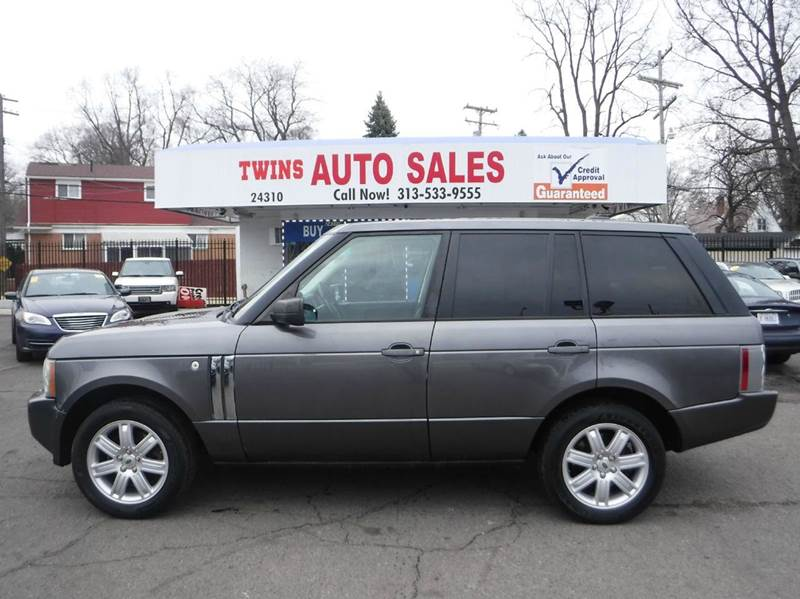 2006 LAND ROVER RANGE ROVER HSE 4DR SUV 4WD gray 2006 land rover range rover hsesuper cleanmus