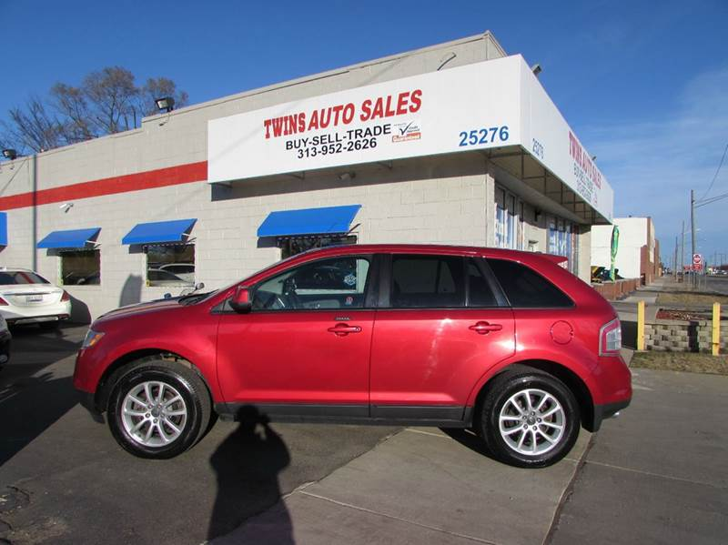 2010 FORD EDGE SEL AWD 4DR SUV red 2010 ford edge sel super cleanmust seewe finance v6 au