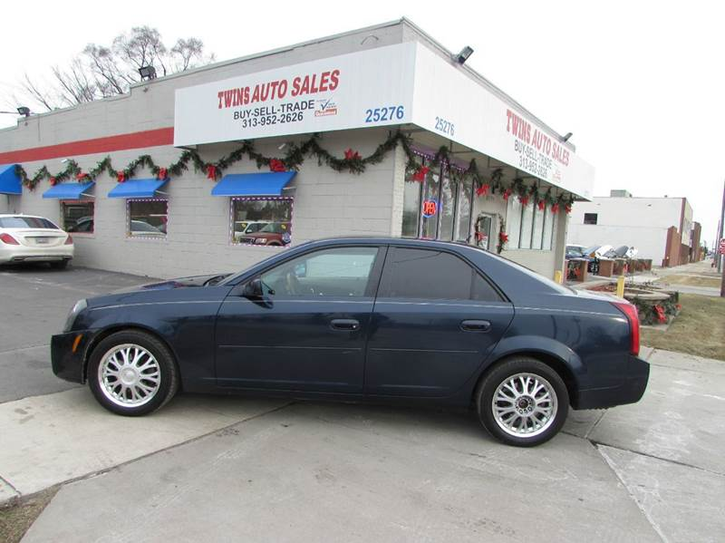 2005 CADILLAC CTS BASE 36 4DR SEDAN blue 2005 cadillac cts super cleanmust seewe finance