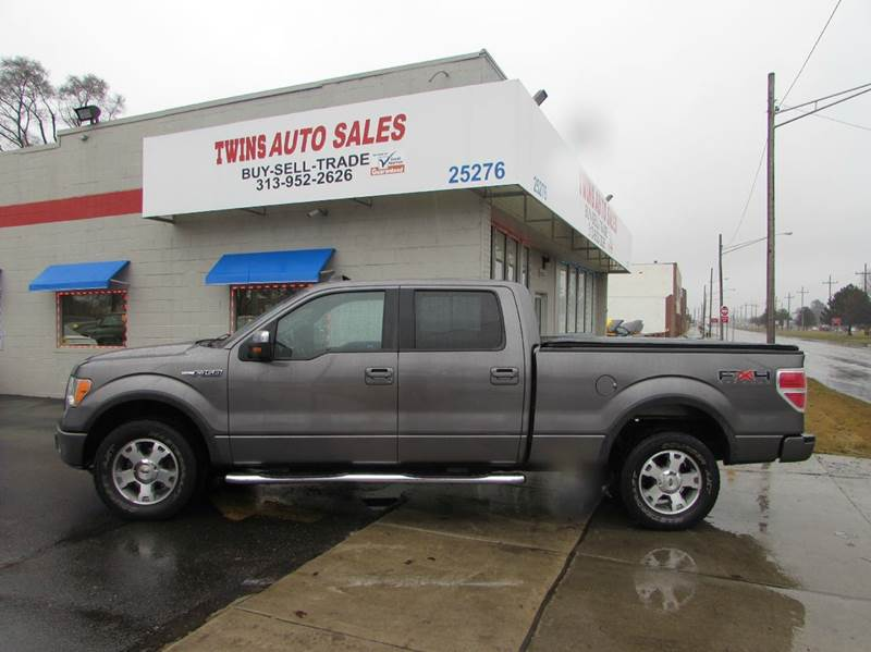 2009 FORD F-150 FX4 4X4 4DR SUPERCREW STYLESIDE gray 2009 ford f150 fx4 supercrew super cleanm