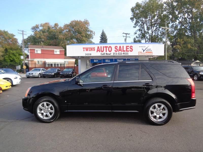 2009 CADILLAC SRX V6 AWD 4DR SUV black 2009 cadillac srx super cleanmust seewe finance v6