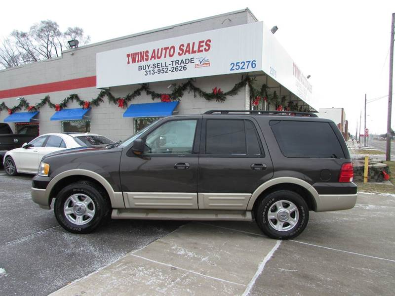 2005 FORD EXPEDITION EDDIE BAUER 4WD 4DR SUV gray 2005 ford expedition eddie bauer super clean