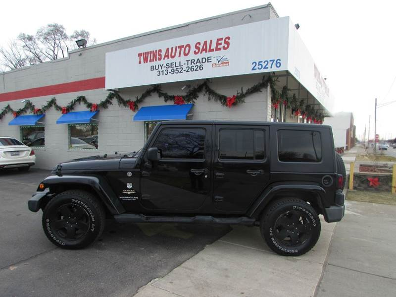 2008 JEEP WRANGLER UNLIMITED SAHARA 4X4 4DR SUV black 2008 jeep wrangler unlimited sahara super
