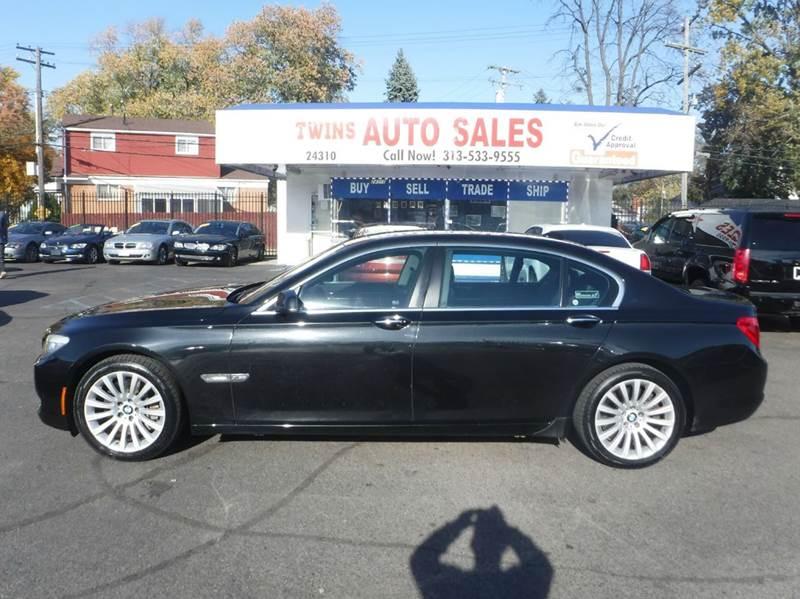 2011 BMW 7 SERIES 750LI XDRIVE AWD 4DR SEDAN black 2011 bmw 750 li x drivesuper cleanmust see