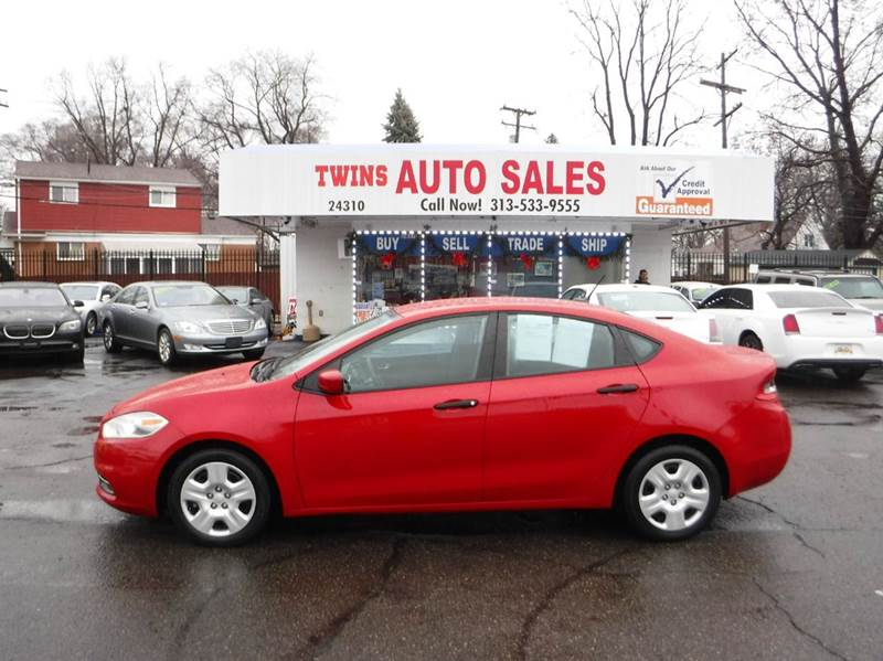 2013 DODGE DART SE 4DR SEDAN red 2013 dodge dart se like newlow milesfinancing available a