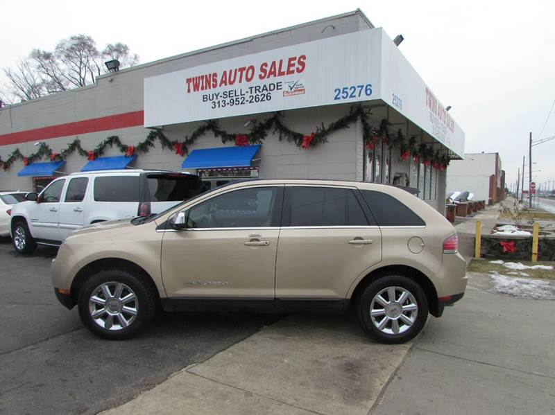 2007 LINCOLN MKX BASE AWD 4DR SUV gold 2007 lincoln mkx super cleanmust seewe finance v6
