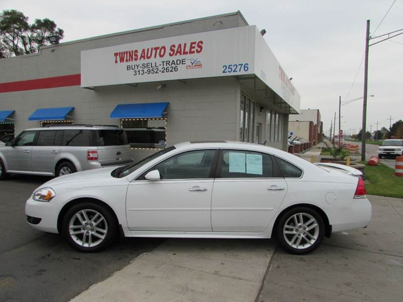 2013 CHEVROLET IMPALA LTZ 4DR SEDAN white 2013 chevrolet impala ltz super cleanmust seewe f