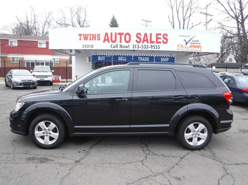 2011 DODGE JOURNEY MAINSTREET 4DR SUV black 2011 dodge journey mainstreetsuper cleanmust see