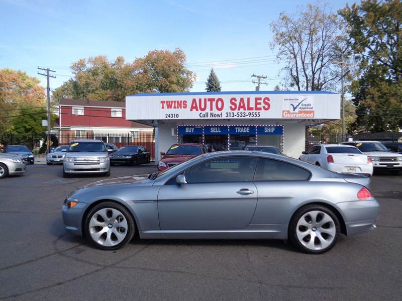2007 BMW 6 SERIES 650I 2DR COUPE gray 2007 bmw 650i super cleanlow mileswe finance v8 aut