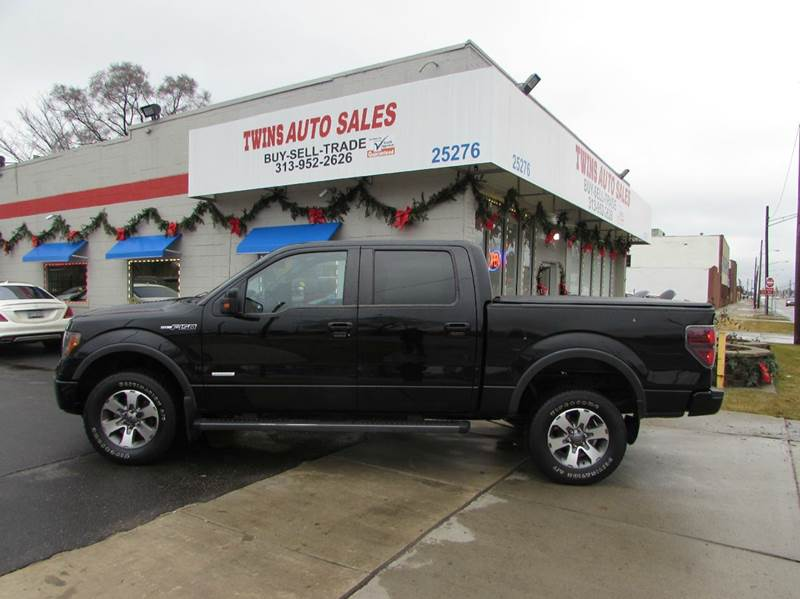 2011 FORD F-150 FX4 4X4 4DR SUPERCREW STYLESIDE black 2011 ford f150 fx4 super cleanmust see